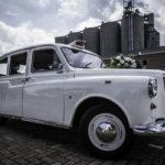 Engelse taxi Austin Hackney